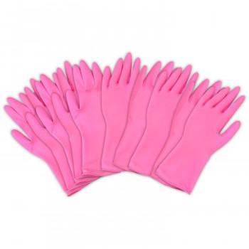左右兼用 薄型 家庭用ゴム手袋(10枚入)