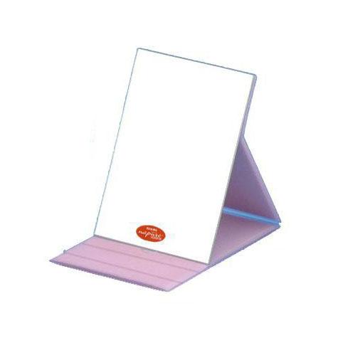 HP-61 ナピュア プロモデル角度調整3段階付き折立ミラー エコ・ピンク(L)