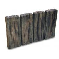 NXstyle 花壇材 ガーデンスリーパー平行四連 ×3個 1335021