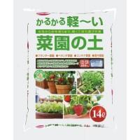 サンアンドホープ 高級用土 かるかる軽〜い菜園の土 14L 4袋セット