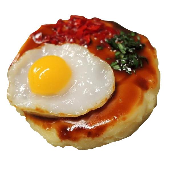 日本職人が作る  食品サンプルマグネット ミニお好み焼き IP-314