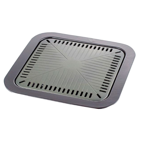 味覚探訪 角型焼肉プレート32×32cm MR-7386