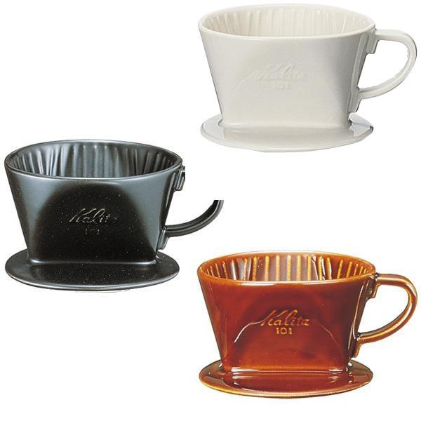 Kalita(カリタ) 陶器製コーヒードリッパー 101 01003・ロトブラウン