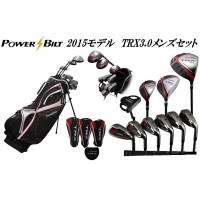 POWER BILT(パワービルト) TRX3.0 メンズクラブセット SR スタンド/ブラック
