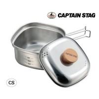 CAPTAIN STAG ステンレス角型ラーメンクッカー1.3L UH-4202
