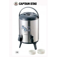 CAPTAIN STAG トップキャッチ ツインコックウォータージャグ10L M-5029