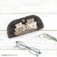 オリムパス パッチワークキット 三上奈津子のハートフルスタイルシリーズ メガネケース(ねこ) PA-698