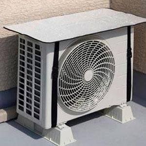 エアコン室外機カバーサンカット 2個セット