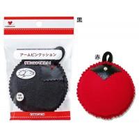 KAWAGUCHI(カワグチ) ソーイング手芸用品 アームピンクッション 黒・13-124