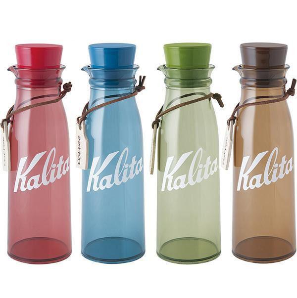 Kalita(カリタ) コーヒーストレージボトル 300ml レッド・44237