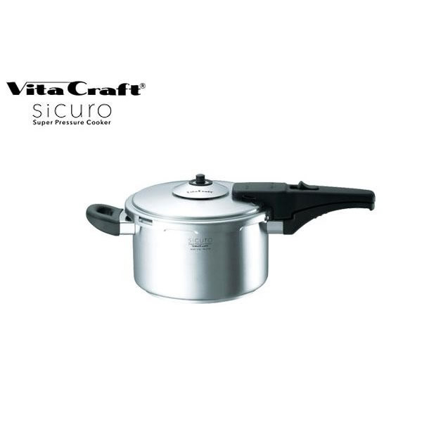 VitaCraft sicuro(ビタクラフト シクロ) スーパー圧力鍋 3.5L 0708