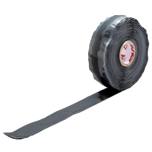 UNITEC ユニテック 強力 速融着補修テープ アーロンテープ・グレー 幅25×長さ5000mm SRG-5