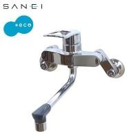 三栄水栓 SANEI キッチン用(壁付) シングル混合栓 K17110ED-13