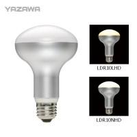 YAZAWA(ヤザワ) φ80mm調光対応レフ形LED電球 口金E26 LDR10LHD(電球色相当)
