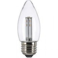 YAZAWA(ヤザワ) シャンデリア形LEDランプ 口金E26 電球色相当 LDC1LG373