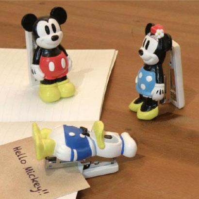 セトクラフト Disney Simple line ステープラー ミッキー・SD-4511-150