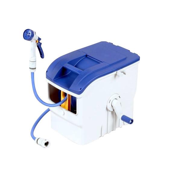 グリーンライフ ボックス型ホースリール ウェイビー BOX ブルー PRB-30(BL)