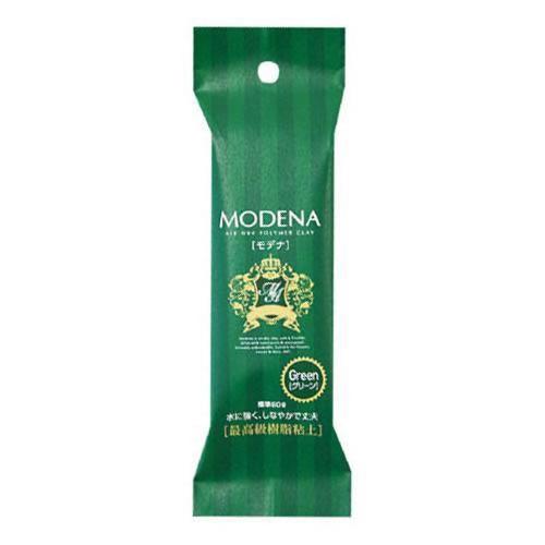 PADICO パジコ 樹脂粘土 Modena color(モデナカラー) グリーン 60g 2個セット 303113