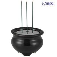 OHM LED電池式線香 LED-DCSK-1 04-0336