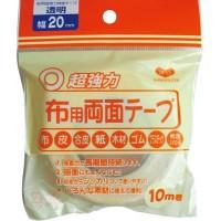 KAWAGUCHI(カワグチ) 布用両面テープ 透明 幅20mm 10m巻 94-005