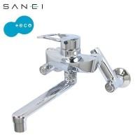 三栄水栓 SANEI シングル混合栓 K1712E-3U-13