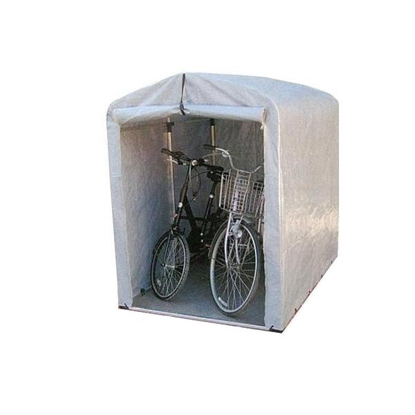 簡単組立! アルミフレーム サイクルハウス 厚手シートタイプ/ミドルタイプ 2.5S-SVU