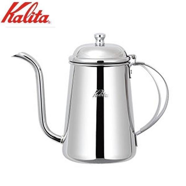 Kalita(カリタ) ステンレス製ポット 細口ポット0.7L蝶番付 52198