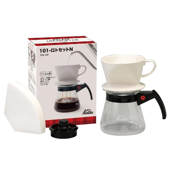 Kalita(カリタ) ドリップセット&ギフトセット 101-ロトセットN 35161