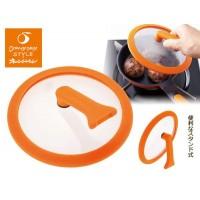 オレンジページスタイル お弁当用スタンド式ミニガラスぶた OPS-106