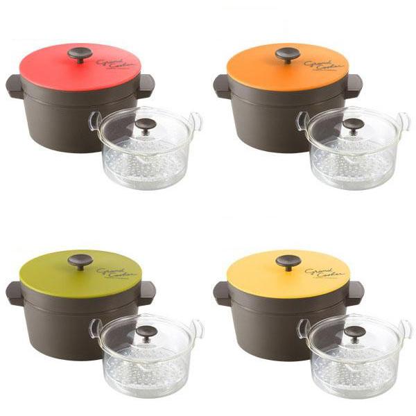 電子レンジ専用保温調理鍋 Grand Cooker(グランクッカー) レッド・RE-1525