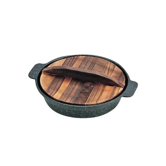 パール金属 H-5368 ストロングマーブル懐石 湯豆腐・すきやき鍋16cm