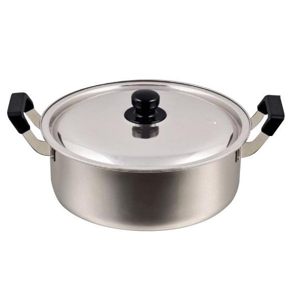 パール金属 HB-1796 NEWだんらん ステンレス製大型鍋30cm