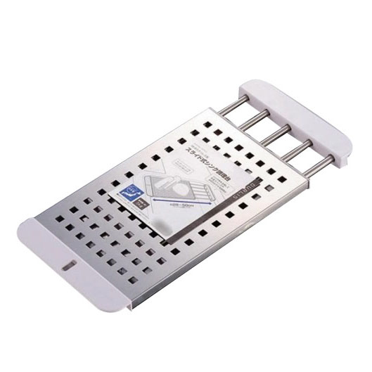 パール金属 H-5650 デュアリス 18-8ステンレス製スライド式シンク調理台