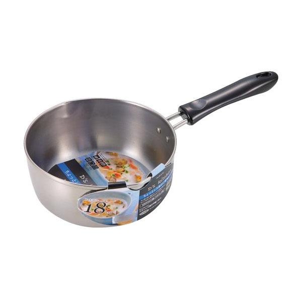 パール金属 H-5172 デイズキッチン ステンレス製行平鍋18cm