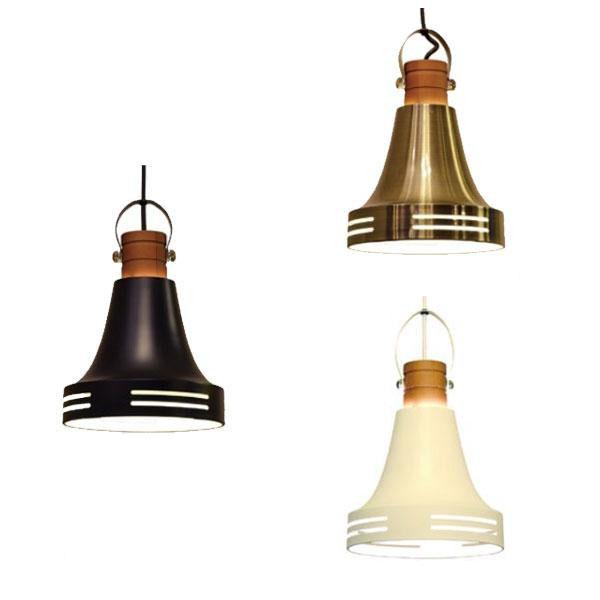 ELUX(エルックス) Lu Cerca(ルチェルカ) Wood Bell(ウッドベル) 1灯ペンダントライト アンティークブラス・LC10774-AB