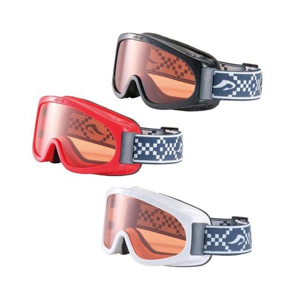 AXE(アックス) ジュニア メガネ対応 ゴーグル AX220-ST BK・ブラック
