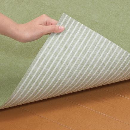おくだけ吸着 キッチンマット 巾90×長さ240cm GR(グリーン)・KH-85