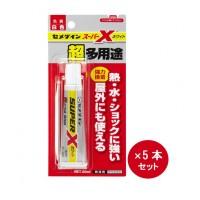 AX-022 セメダイン 超多用途接着剤 スーパーXホワイト 20ml×5本