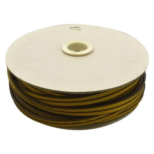 光 (HIKARI) 戸当り防音クッションテープ粘着付茶P型 5.5×18mm KP5-50W   50m