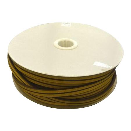 光 (HIKARI) 戸当り防音クッションテープ粘着付茶D型 6×18mm KD8-50W   50m
