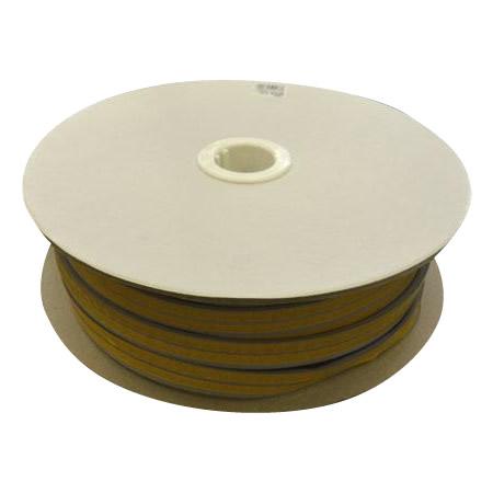 光 (HIKARI) 戸当り防音クッションテープ粘着付グレーM型4×18mm KMG5-50W   50m