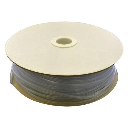 光 (HIKARI) エンビUパッキンドラム巻 透明 3.4×6.7mm 1mm用 KVC1-100W   100m