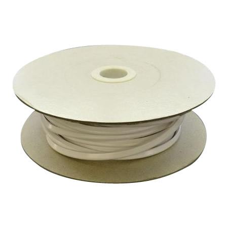 光 (HIKARI) エンビUパッキンドラム巻 白 5.7×8.4mm 2mm用 KVW2-80W   80m