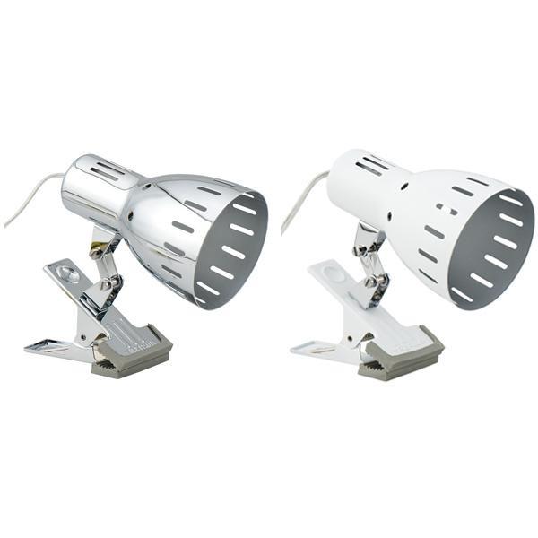 YAZAWA(ヤザワコーポレーション) LED専用 クリップライト E26 1灯 電球なし クローム・Y07CLX60X01CH