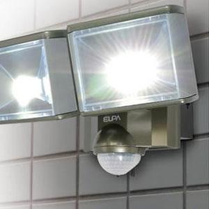 ELPA(エルパ) 屋外用LEDセンサーライト2灯 ESL-802AC 1786200