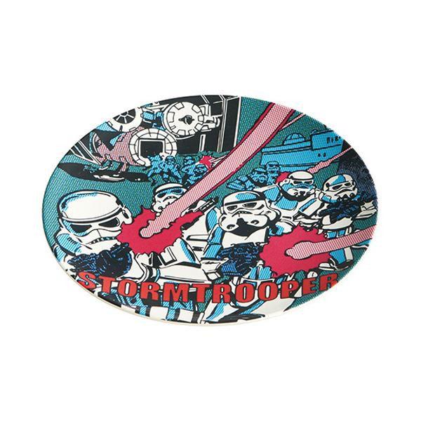 pos.329630 スターウォーズ コミッククラッシュ トルーパー MPL20P 薄肉メラミンプレート