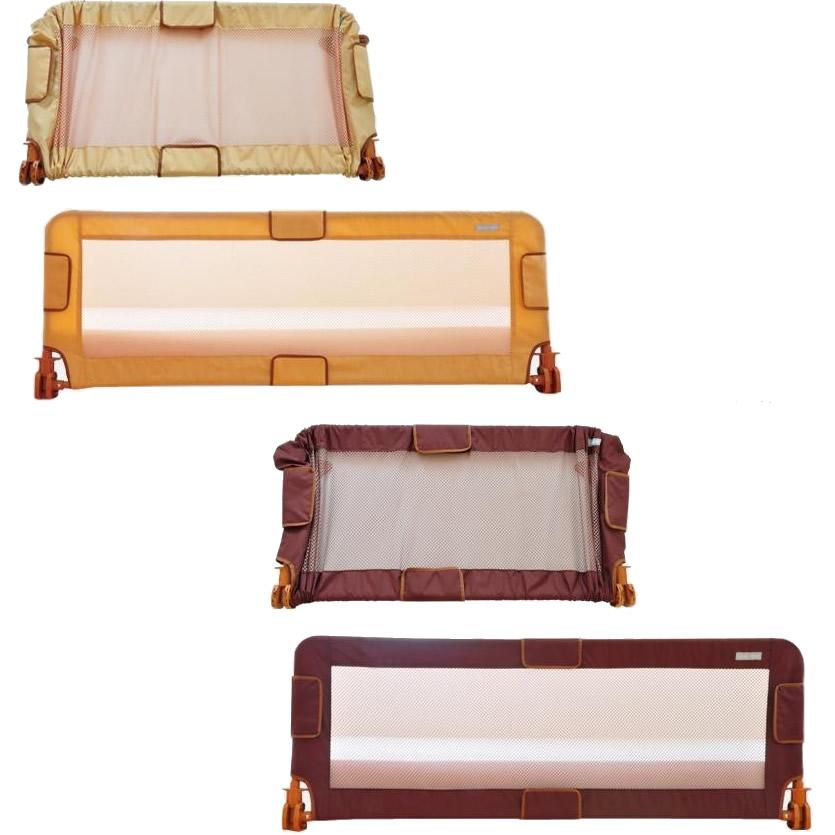 LittleWorld 伸縮式ベッドレール 幼児用ベッド柵 ベージュ