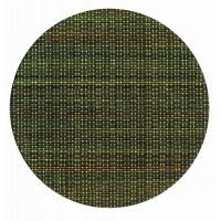 大黒工業 紙 コースター 和ごころ No.2 麻織 (緑) φ90mm 100枚入り×4セット 6177