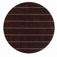大黒工業 紙 コースター 和ごころ No.6 縞 (茶) φ90mm 100枚入り×4セット 6181