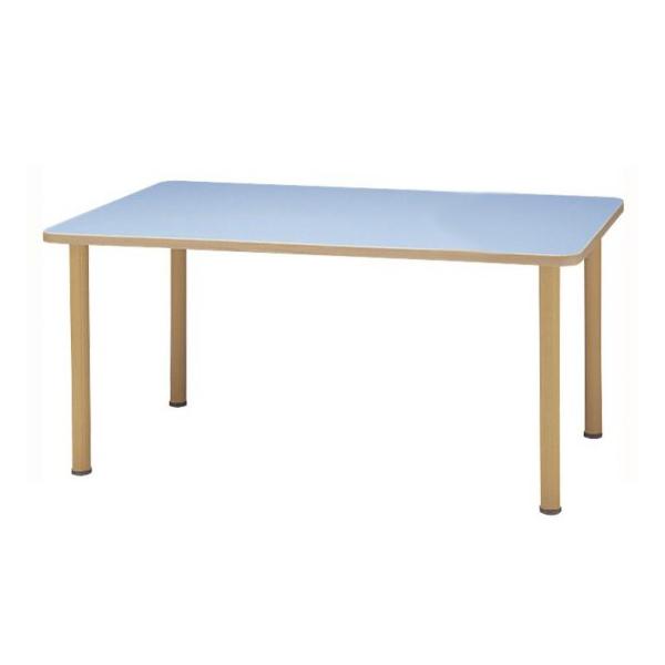 サンケイ 長方形テーブル(H700〜750mm) TCA690-ZW ナチュラル